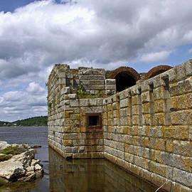 Catherine Melvin - Fort Popham Moat