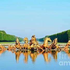 Alex Cassels - Fountain of Apollo at Versailles