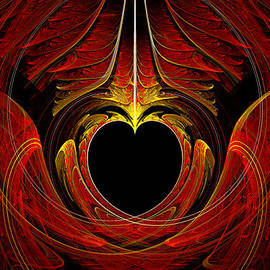 Mike Savad - Fractal - Heart - Victorian love