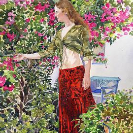 Margaret Merry - Francesca in Utes Garden