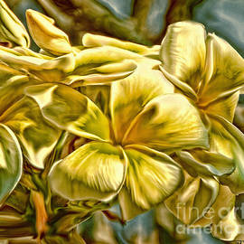 Ted Guhl - Frangipani in Gold