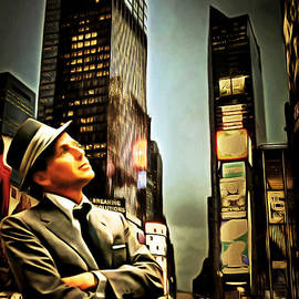 Wingsdomain Art and Photography - Frank Sinatra If I Can Make It Here New York 20150126brun