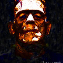Wingsdomain Art and Photography - Frankenstein - Abstract
