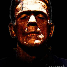 Wingsdomain Art and Photography - Frankenstein - Black