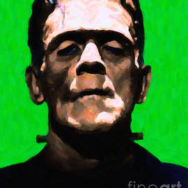 Wingsdomain Art and Photography - Frankenstein - Painterly - Green