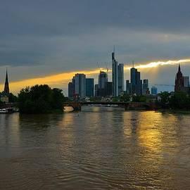 Steven Richman - Frankfurt Sunset
