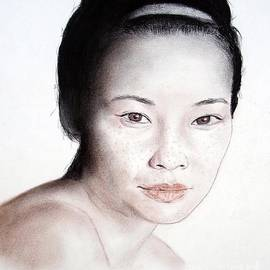 Jim Fitzpatrick - Freckle Faced Asian Beauty