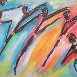 Judith Desrosiers - Freedom joyful ballet