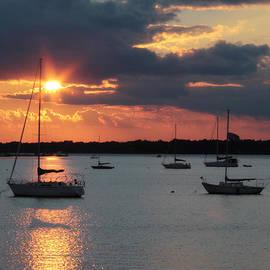 Lori Deiter - French Creek Bay Sunset