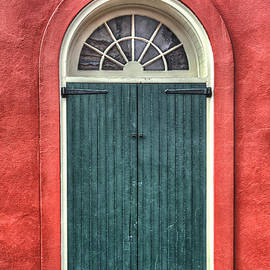 Brenda Bryant - French Quarter Arched Door