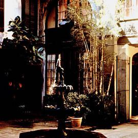 Glenn Aker - French Quarter Courtyard Fountain