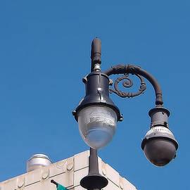 Kathy K McClellan - French Quarter Light Post