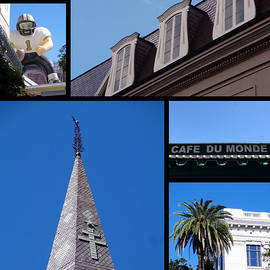 Kathy K McClellan - French Quarter Looking Up