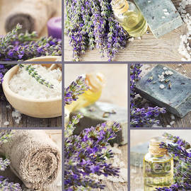 Mythja  Photography - Fresh lavender collage