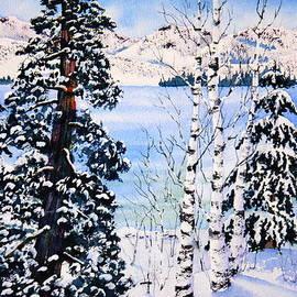 Eva Nichols - Fresh Snow at Lake Tahoe