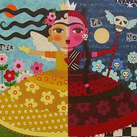 LuLu Mypinkturtle - Frida Kahlo Angel Devil Queen