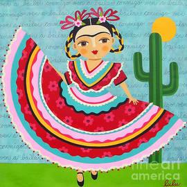 LuLu Mypinkturtle - Frida Kahlo in Traditional Dress