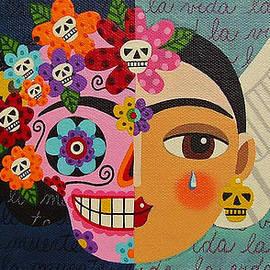 LuLu Mypinkturtle - Frida Kahlo Sugar Skull Angel