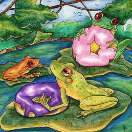 Julie McDoniel - Frog food
