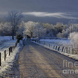 Douglas Stucky - Frosty Cades Cove HDR