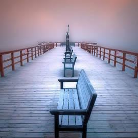 Tara Turner - Frosty Morning at the Pier