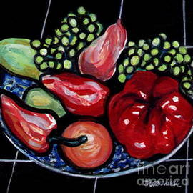 Joyce Gebauer - Fruit and Peppers