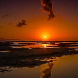 Julis Simo - Fuerteventuera Beach Sunrise Reflections