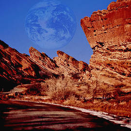 Kellice Swaggerty - Full Earth Over Red Rocks