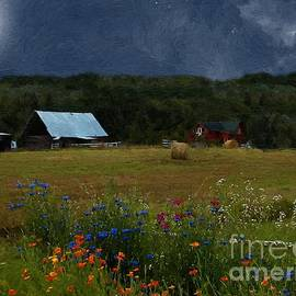 RC deWinter - Full Flower Moon Over the Farm