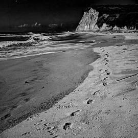 Morgan Wright - Full Moon Over Scott Creek Beach