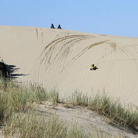 Christiane Schulze Art And Photography - Fun Ride On Oregon Dunes