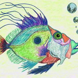 Sharon Cummings - Funky Fish Art - By Sharon Cummings