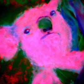 Sue Jacobi - Funky Koala Bear in Pink