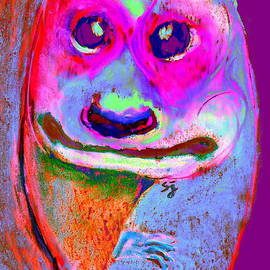 Sue Jacobi - Funky Meerkat Tunnel Art Print