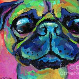 Svetlana Novikova - Funny bug eyed pug