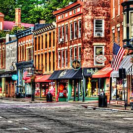Roger Passman - Galena Main Street Early Summer Morning