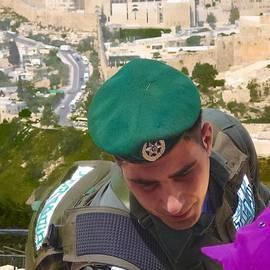 Sandra Pena de Ortiz - Gallant And Kind Israeli Soldier