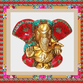 Navin Joshi - Ganapati Ganesh Idol Hinduism Religion Religious Spiritual Yoga Meditation Deco NavinJoshi  Rights M