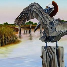 Phyllis Beiser - Gar Lake Pelican 2