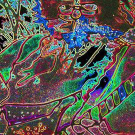 Susan Carella - Jerry Garcia Stained Glass