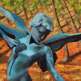 Michael Saunders - Garden Angel of Tower Hill