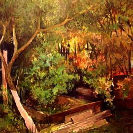 Mikhail Savchenko - Garden Backyard Corner