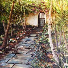 Janis Lee Colon - Garden Gate to Rosemary