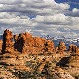 Utah Images - Garden of Eden and La Sal Mountains