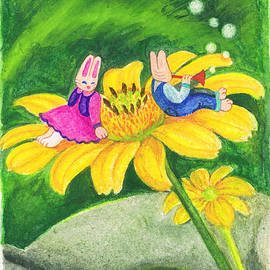 Vin Kitayama - Garden Rabbit17 Heliopsis