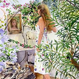 Margaret Merry - Garden Reflection