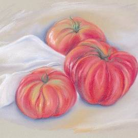MM Anderson - Garden Tomatoes with Drape