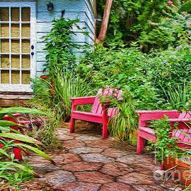 Diana Sainz - Garden Treasures at Aunt Eden