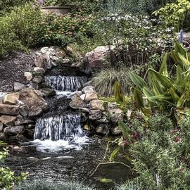 John Straton - Garden Water Fall at Woodward Park 5