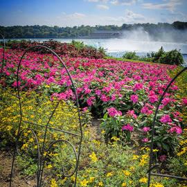 LeeAnn McLaneGoetz McLaneGoetzStudioLLCcom - Garden with a view Niagara Falls